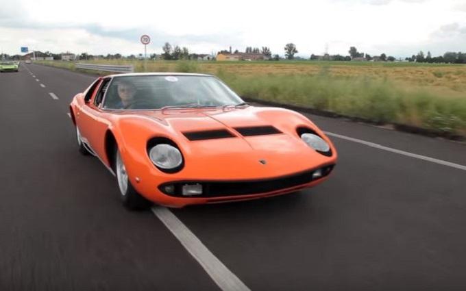 Lamborghini Miura, spettacolo senza tempo che torna a sedurre in strada [VIDEO]