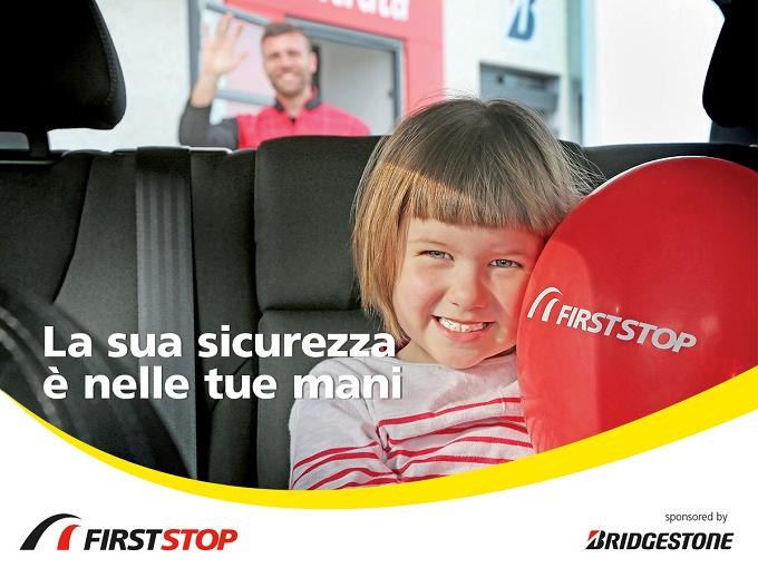 Bridgestone e First Stop danno il via al Mese della Sicurezza