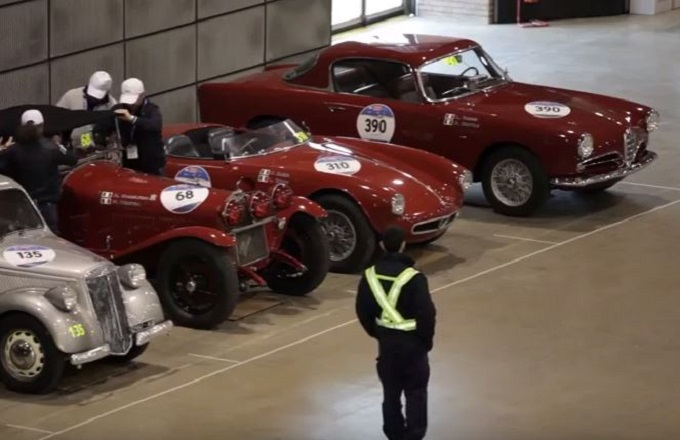 Mille Miglia 2016: il suggestivo reportage video del Bar Sport