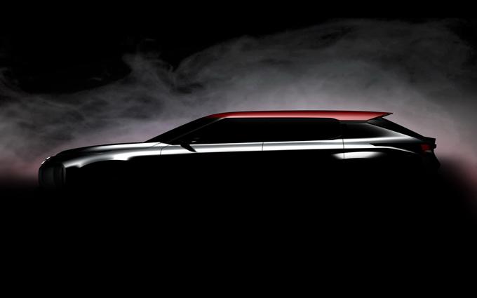 Mitsubishi Ground Tourer: rilasciata la prima immagine del SUV Concept