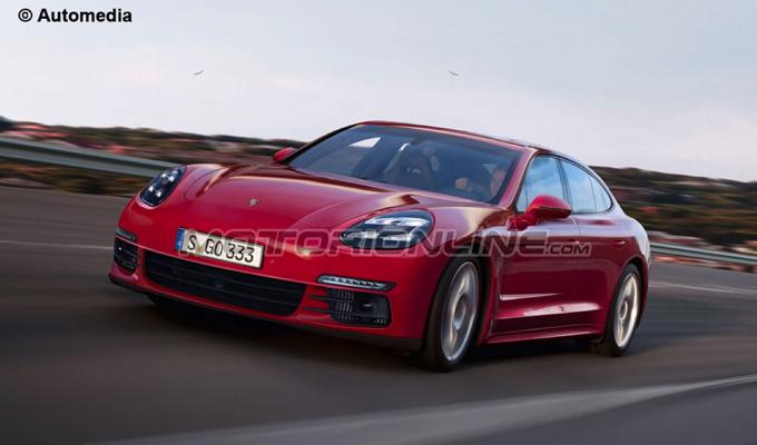 Nuova Porsche Panamera: un'idea del possibile design in vista della presentazione [RENDERING]