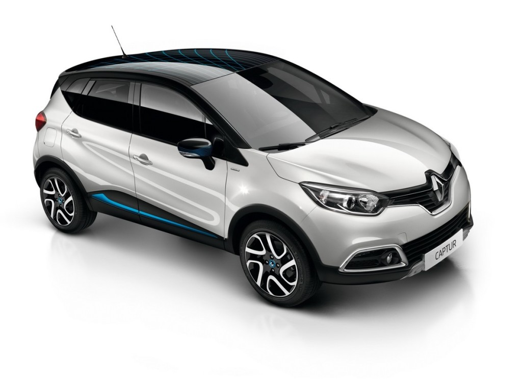 renault captur wave nuova serie limitata per il crossover francese foto. Black Bedroom Furniture Sets. Home Design Ideas