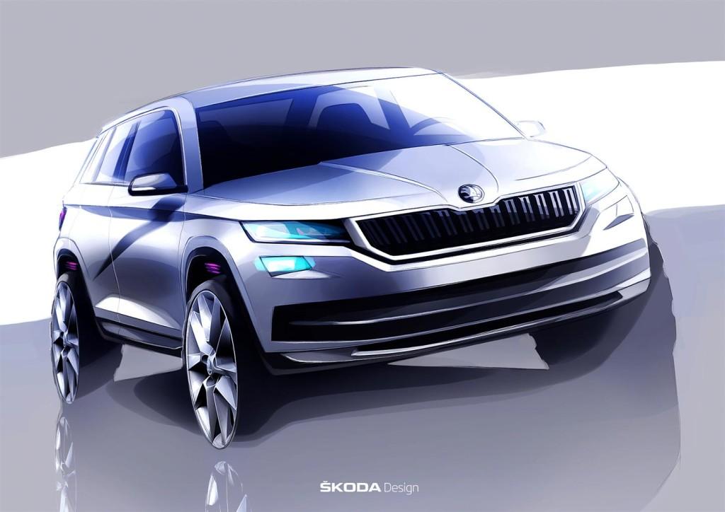 Skoda Kodiaq: le anticipazioni del nuovo SUV