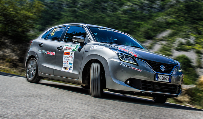 Ecorally 2016: 843 km in giro per l'Italia con la Suzuki Baleno ibrida [FOTO REPORTAGE]