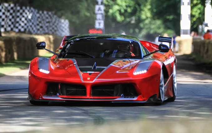 Goodwood Festival of Speed: Ferrari ancora una volta la preferita dei fan [VIDEO]