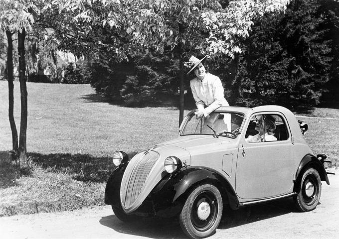 Fiat 500 Topolino, al via le celebrazioni per gli ottant'anni