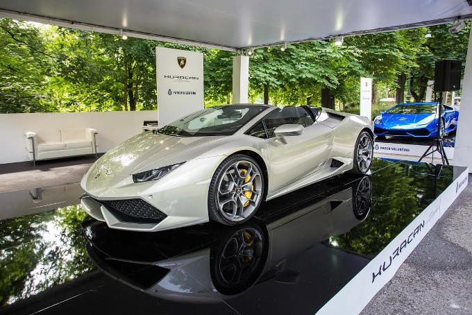 Lamborghini Huracan al Parco Valentino di Torino