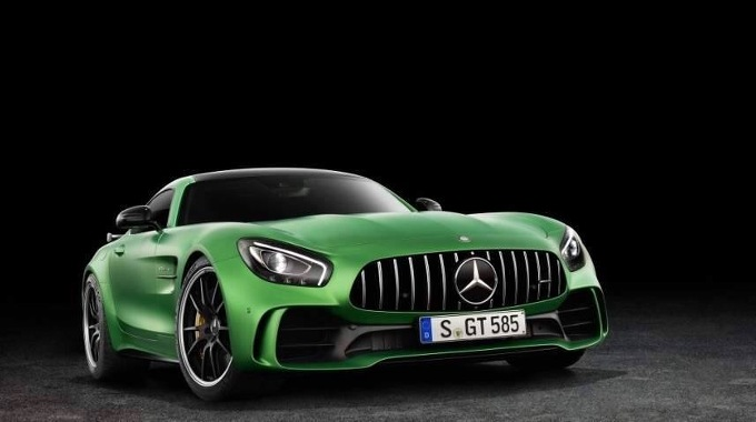 Mercedes AMG GT R: la presentazione in Diretta streaming