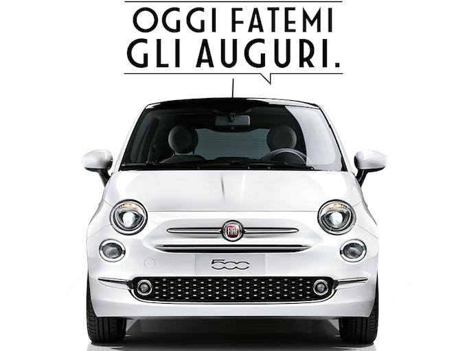 Fiat 500, passano gli anni ma non invecchi mai, auguri!