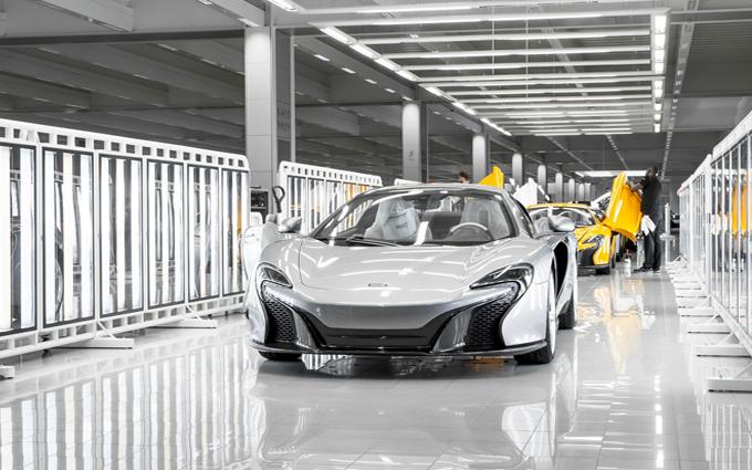 McLaren: vendute 1.654 vetture nel 2015