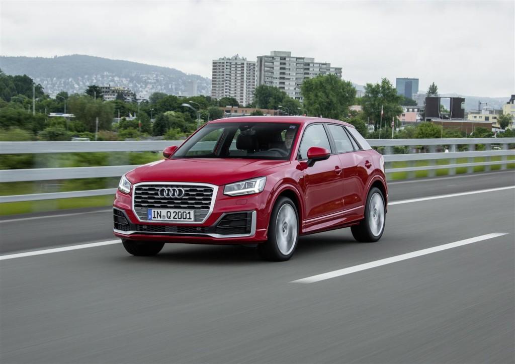 Audi Q2, il SUV compatto in Italia a fine anno