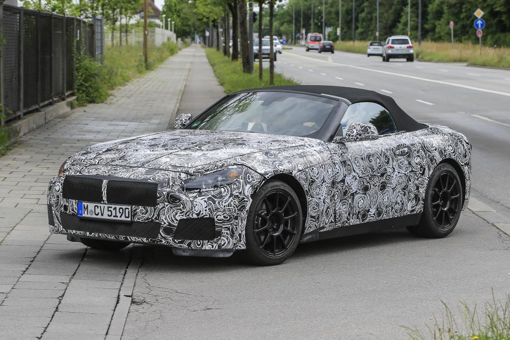 BMW Z5 foto spia 1 luglio 2016