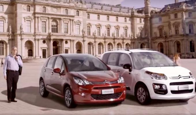Citroën C3 e C3 Picasso: Vittorio Sgarbi e la speciale operazione Monna Lisa [VIDEO]