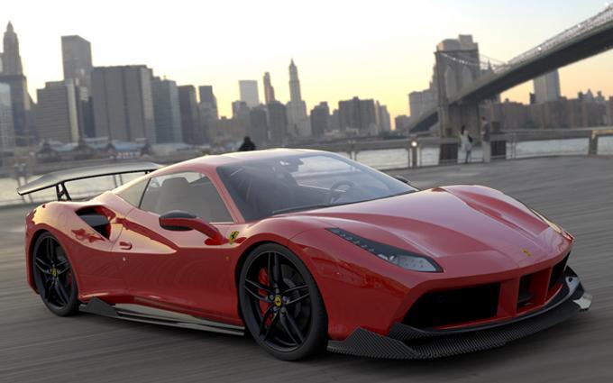 Ferrari 488 gtb dmc rilascia ulteriori specifiche foto for Interieur 488 gtb
