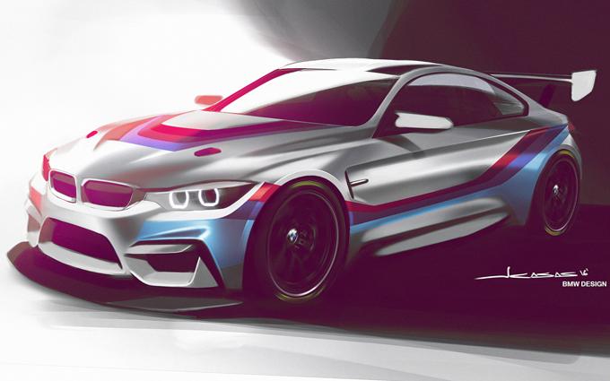 BMW M4 GT4: primo sguardo alla futura vettura [RENDERING]