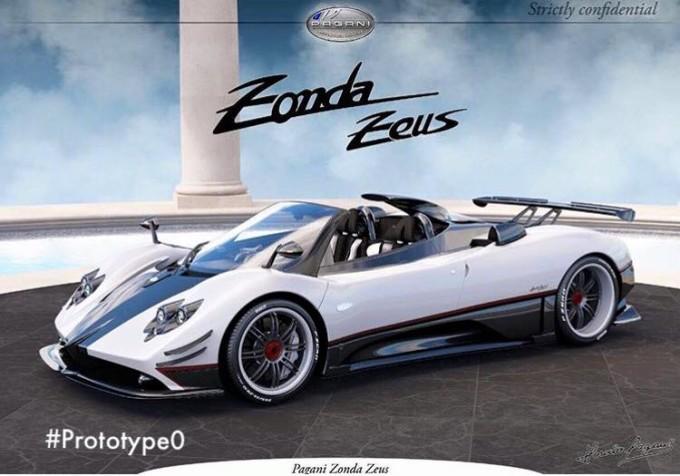Pagani Zonda Zeus, immaginando una one-off basata sulla Zonda 760 Roadster [RENDERING]