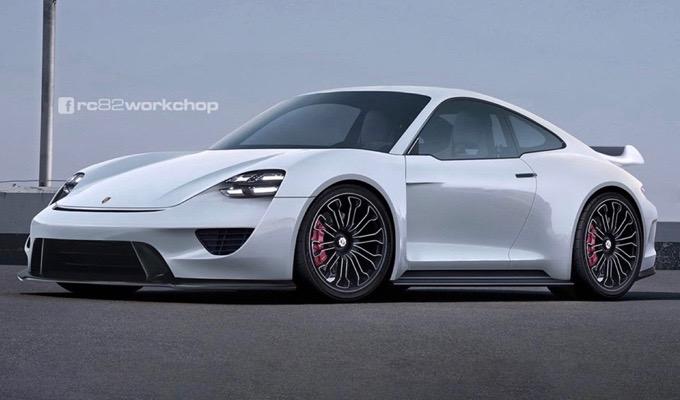 Porsche 911: immaginare l'aspetto di un'ipotetica versione elettrica del futuro [RENDERING]
