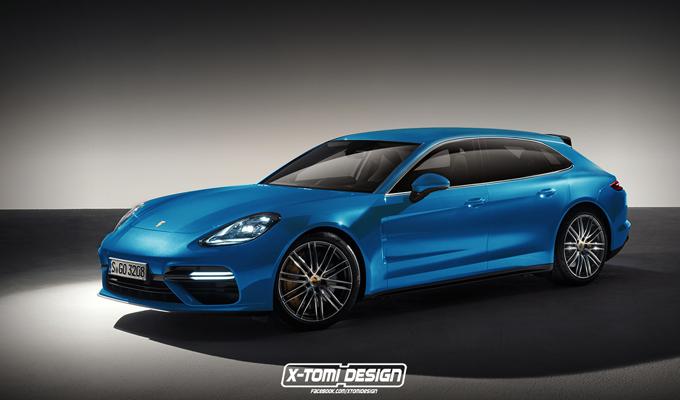 Nuova Porsche Panamera: un'idea della potenziale variante Shooting Brake [RENDERING]
