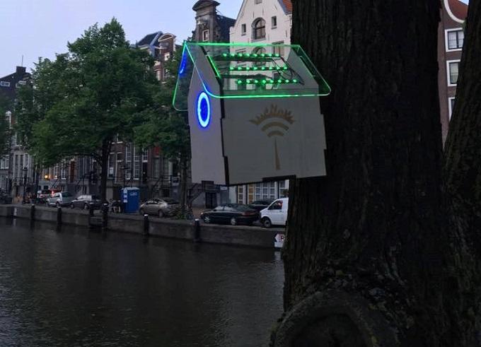 Amsterdam, Wi-Fi gratis per strada se si abbassa il livello di inquinamento