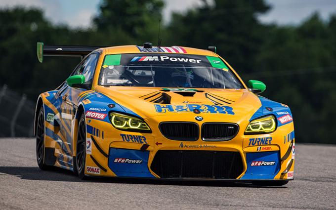 BMW M6 GT3: a Mosport la prima vittoria nell'IMSA con il Turner Motorsport
