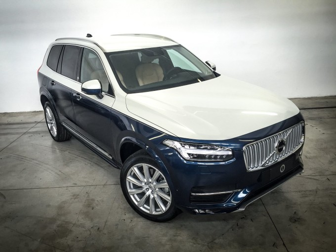 Volvo xc90 esemplare unico personalizzato da garage for Garage volvo bourgoin jallieu