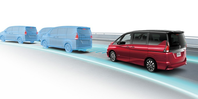 Nissan ProPILOT, mobilità più tranquilla e sicura sulle autostrade per la Serena