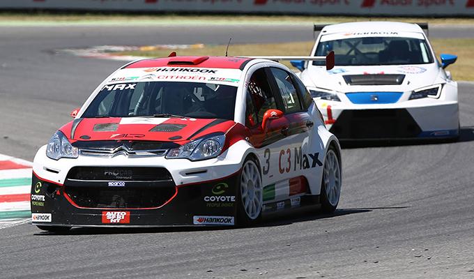 Citroën C3 Max: miglior risultato stagionale con Arduini e il test driver di Motorionline Gianluca Mauriello