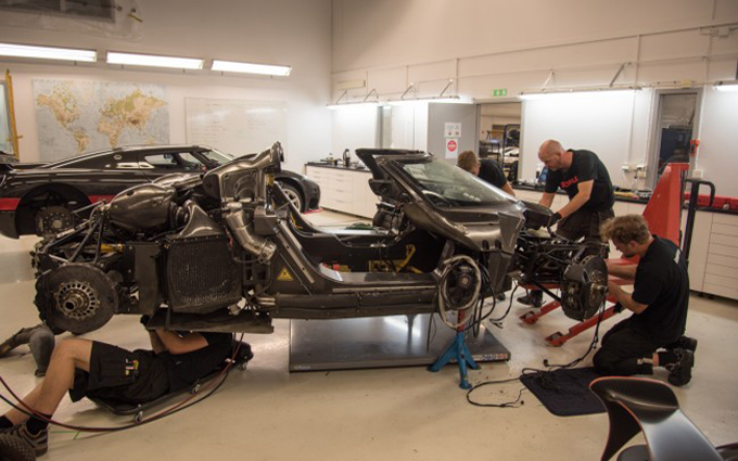 Koenigsegg One:1, l'incidente del Nurburgring causato da un problema all'ABS