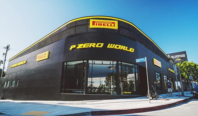 Pirelli P Zero World, apre il nuovo flagship store a Los Angeles