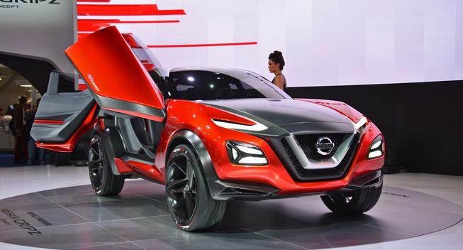 Nissan GripZ: anticipa design e motore del nuovo crossover?