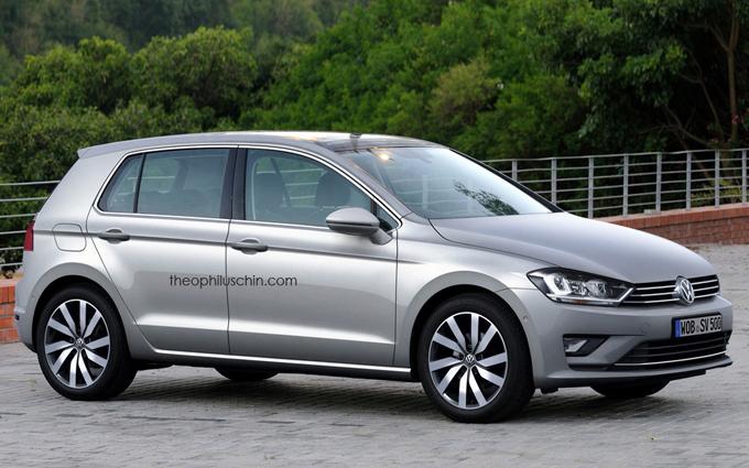 Volkswagen Golf: nuovi rumors sull'ottava generazione [RENDERING]
