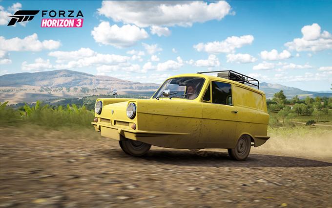 Forza Horizon 3: spazio anche per la Reliant Regal Supervan III