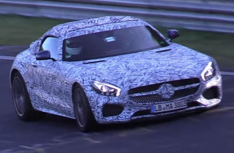 Mercedes AMG GT Roadster: test drive al Nurburgring [VIDEO]