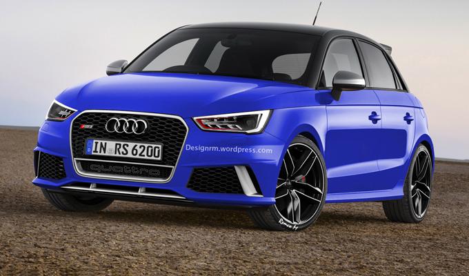 Audi RS1, nel mirino c'è la MINI John Cooper Works