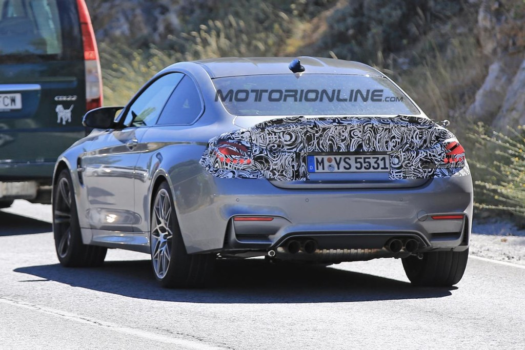 BMW M4 2017 - Foto spia 11-08-2016