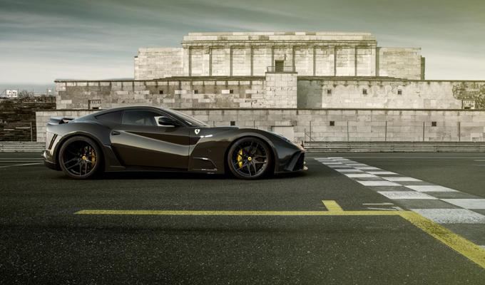 Ferrari F12 N-Largo S by Novitec Rosso: un lampo nero [VIDEO]