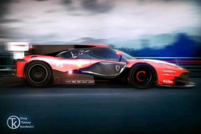 Ferrari Le Mans GTE Pro turbo hybrid car Progetto 2020 (2)