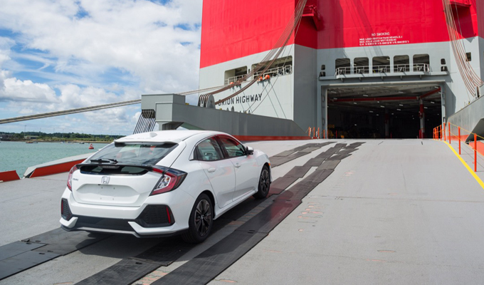 Pronta per l'Europa — Nuova Honda Civic