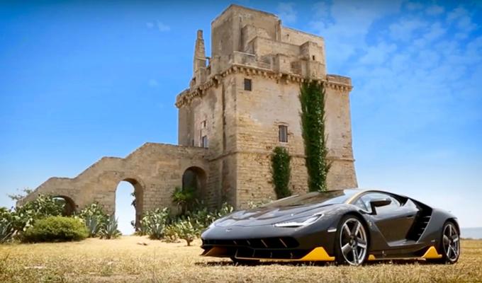 Lamborghini Centenario LP 770-4: il cuore batte forte al Nardò Technical Center [VIDEO]