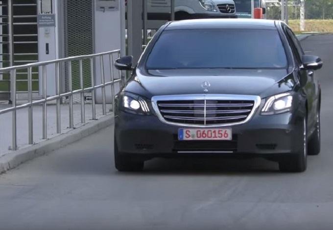 Nuova Mercedes Classe S: VIDEO SPIA