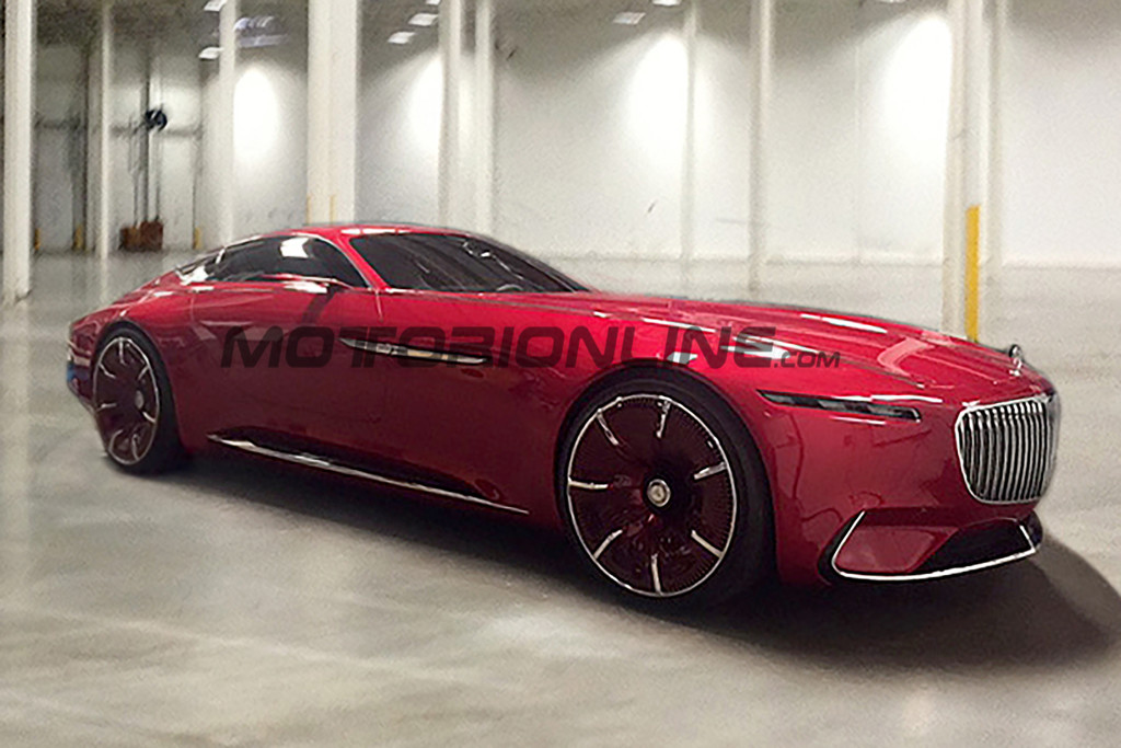 "Mercedes-Maybach Vision 6: FOTO LEAKED ""dal vivo"" della super coupé"
