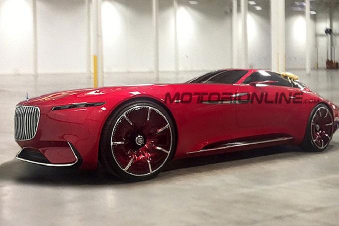 Vision Mercedes-Maybach 6, la nuova frontiera del lusso