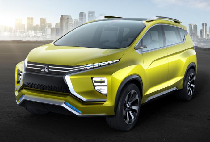 Mitsubishi XM Concept, svelata l'anteprima del futuro SUV giapponese