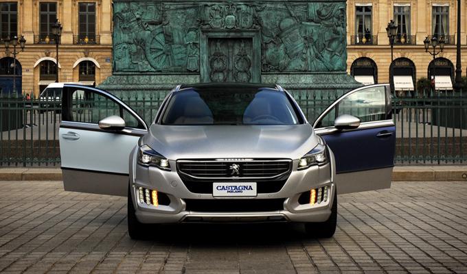 Peugeot 508 RXH Castagna Gris