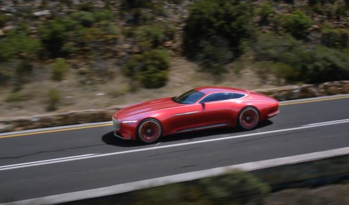 Vision Mercedes-Maybach 6: futurismo in azione [VIDEO]