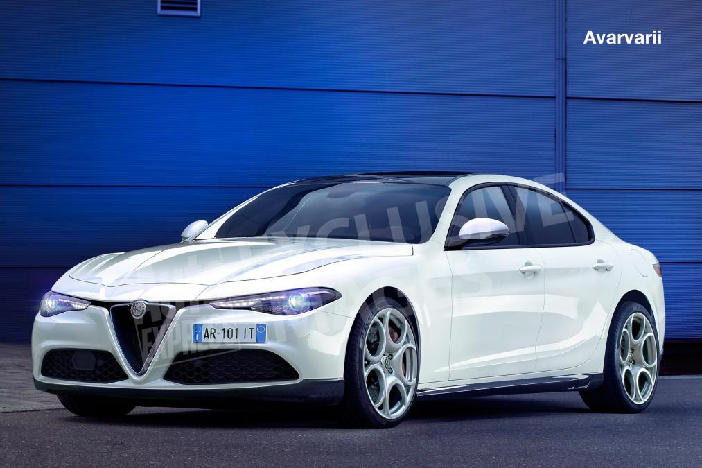 Alfa Romeo ammiraglia segmento E