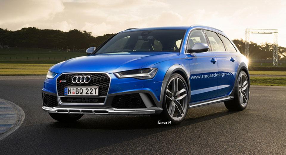 official store buy top design Audi potrebbe proporre una RS6 Avant allroad in Cina [RENDER]