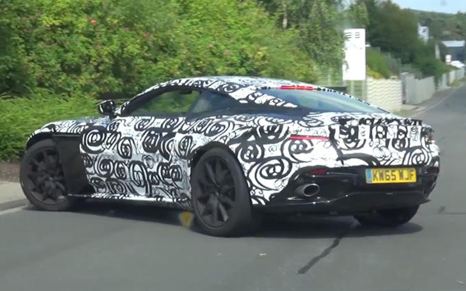 Aston Martin DB11: il ritorno al Nurburgring [VIDEO SPIA]
