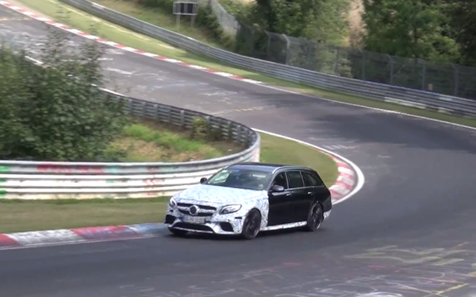 Mercedes AMG E63 Estate 2017: in scena nuovamente al Nurburgring [VIDEO SPIA]