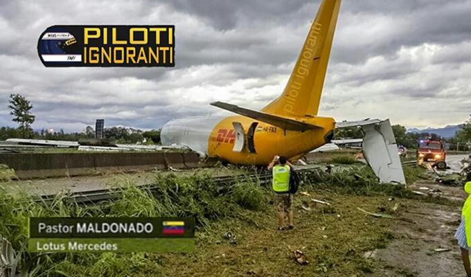 Bergamo, aereo fuori pista: disagi voli, ok Alghero